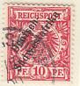 Deutsch-Südwestafrika gestempelt 1897