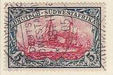 Deutsch-Südwestafrika gestempelt 1901