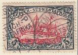 Deutsch-Südwestafrika gestempelt 1906