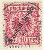 Marshall-Inseln gestempelt 1897/1900