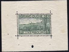 Luxemburg - Mi.-Nr. Block 1 I **