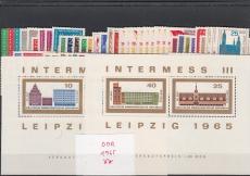 DDR Jahrgang 1965 postfrisch