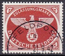 Deutsches Reich Feldpost Mi.-Nr. 2 Ay oo
