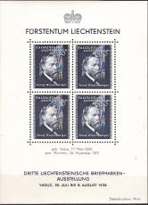 Liechtenstein-Mi.-Nr. Block 3 **