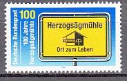 Bund Mi.-Nr. 1740 **