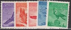 Liechtenstein Mi.-Nr. 143/47 *