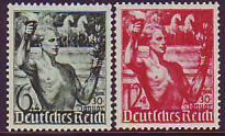 Deutsches Reich Mi.-Nr. 660/61 **