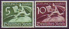 Deutsches Reich Mi.-Nr. Z 738/39 **