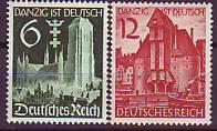 Deutsches Reich Mi.-Nr. 714/15 **