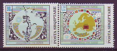 Europa Albanien Briefmarken Albanien Posta Shqiptare 1992