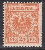 Deutsches Reich Mi.-Nr. 47 da ** Fotobefund