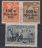 Deutsches Reich Mi.-Nr. 258/60 **