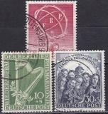Berlin Jahrgang 1950 gestempelt