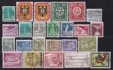 Berlin Jahrgang 1956 gestempelt