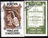 Cept Andorra frz. 1985