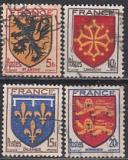 Frankreich Mi.-Nr. 615/18 oo