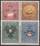 Österreich Mi.-Nr. 937/40 **