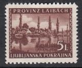 Dt.Bes. Laibach Mi.-Nr. 57 I **