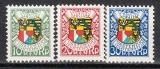Liechtenstein-Mi.-Nr. 75/77 **