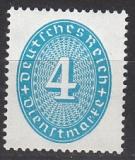 Deutsches Reich Dienst Mi.-Nr. 127 X **