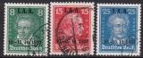 Deutsches Reich Mi.-Nr. 407/09 oo
