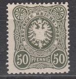 Deutsches Reich Mi.-Nr. 44 II b * gepr.