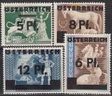 Österreich Mi.-Nr. 664/67 **