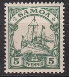 Dt. Kol. Samoa Mi.-Nr. 8 *
