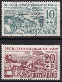 Württ - Mi.-Nr. 38/39 oo