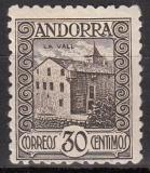 sp. Andorra Mi.-Nr. 21 B *