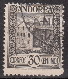 sp. Andorra Mi.-Nr. 21 A oo