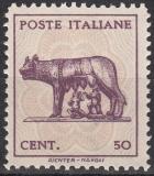 Italien Mi.-Nr. 666 Y (*)