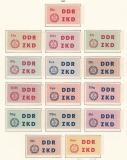 DDR Dienst C Mi.-Nr. 1/15 **
