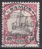 Dt. Kol. Samoa Mi.-Nr. 13 oo