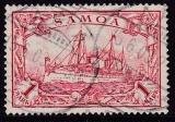Dt. Kol. Samoa Mi.-Nr. 16 oo