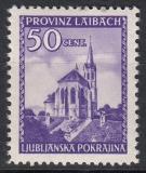 Dt.Bes. Laibach Mi.-Nr. 49 I **
