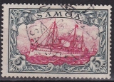 Dt. Kol. Samoa Mi.-Nr. 15 oo