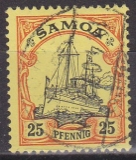 Dt. Kol. Samoa Mi.-Nr. 11 oo