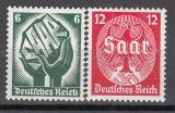Deutsches Reich Mi.-Nr. 544/45 **