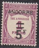 frz. Andorra Porto Mi.-Nr. 13 *