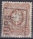 Deutsches Reich Mi.-Nr. 35 a oo gepr.