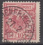 Deutsches Reich Mi.-Nr. 47 b B oo gepr.