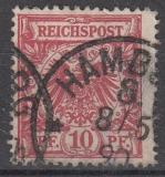 Deutsches Reich Mi.-Nr. 47 b D oo gepr.