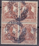 Deutsches Reich Mi.-Nr. 101 c oo gepr.