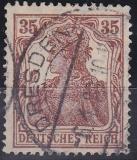 Deutsches Reich Mi.-Nr. 103 a oo gepr.