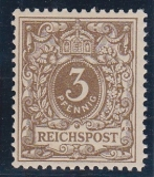 Deutsches Reich Mi.-Nr. 45 cb ** gepr. BPP