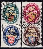 Deutsches Reich Mi.-Nr. 398/401 oo