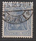 Deutsches Reich Mi.-Nr. 87 II c oo gepr.