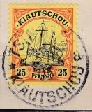 Dt. Kol. Kiautschou Mi.-Nr. 9 oo