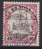 Dt. Kol. Samoa Mi.-Nr. 14 oo